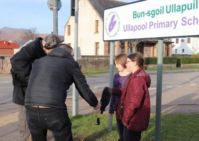 Ella and Megan interviewed by BBC for #SchoolStrike for #ClimateAction