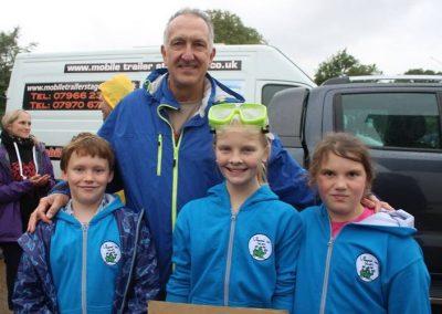 Finlay Pringle Ullapool Shark Ambassador - Mark Carwardine #PeoplesWalkForWildlife