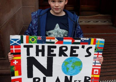 Finlay Pringle no plan B #SchoolStrike for #ClimateAction