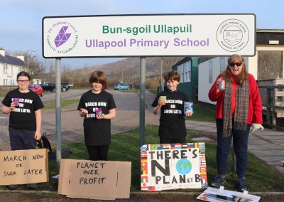 School Strike Ullapool