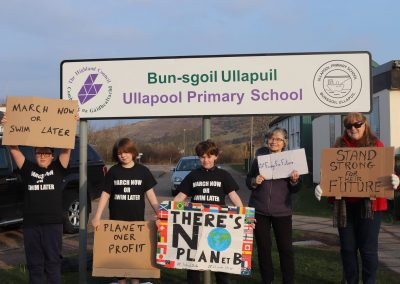 School Strike Ullapool week 11