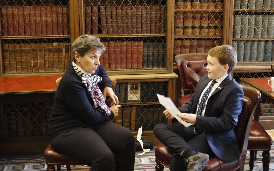 Meeting Christiana Figueres