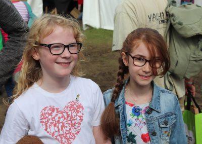 BirdFair 2019 Amelia Bradbury and Rebecca Bailey