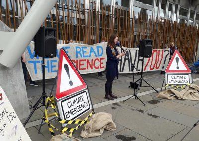 Caroline Rance Holyrood IPCC rpeort reading