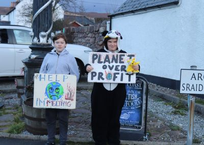 Finlay and Ella climate strike (2)