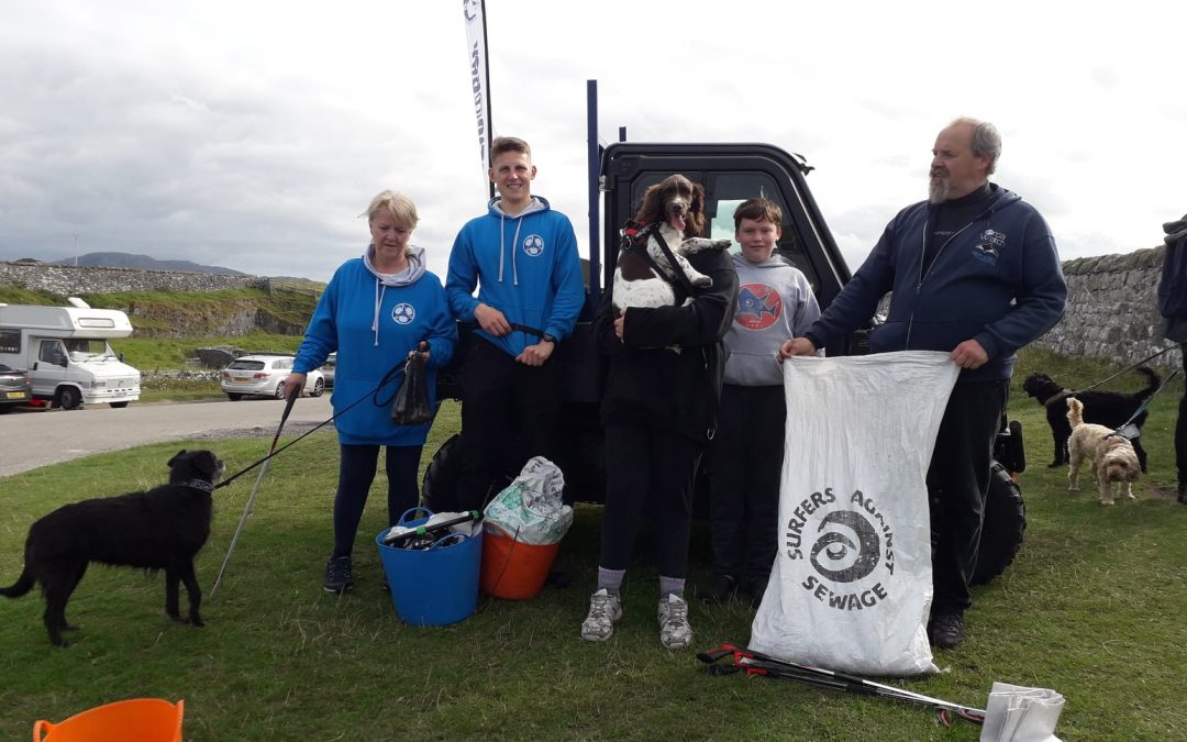 Campervan Travels, Minke Whale and PlasticAtBay