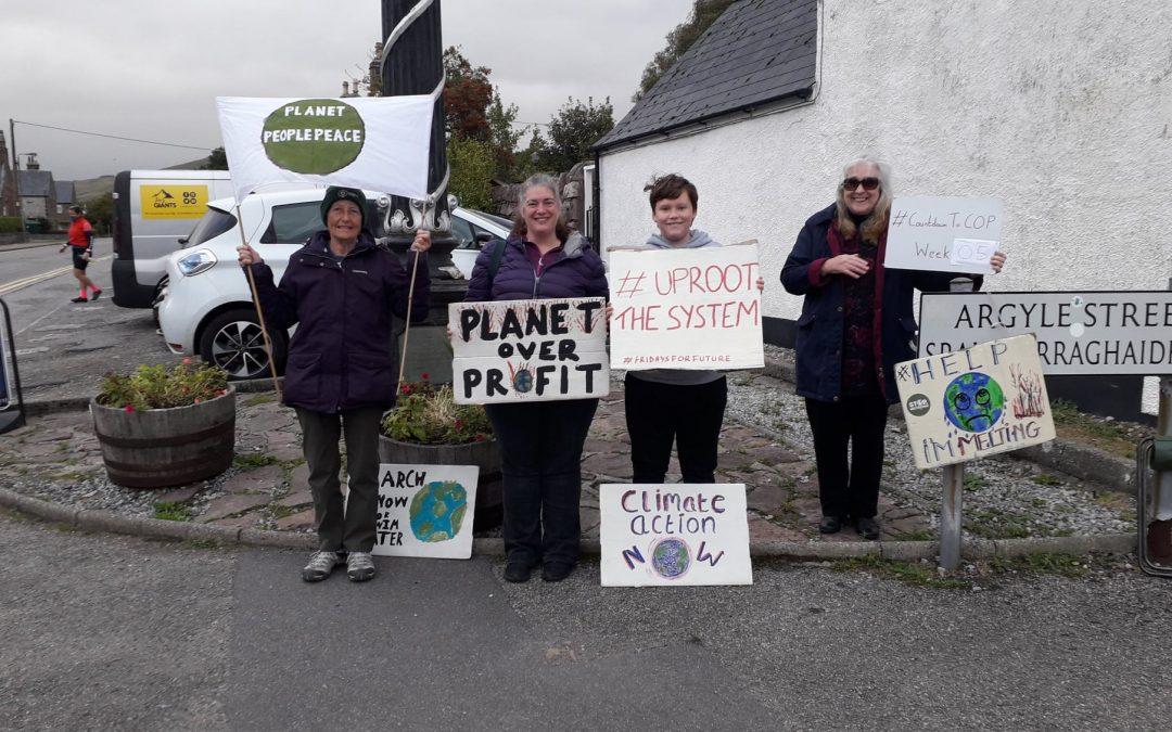 Climate Strike 145 – 5 Weeks Until COP26